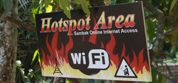 Jaringan Internet di Desa Sambak sudah Terealisasi