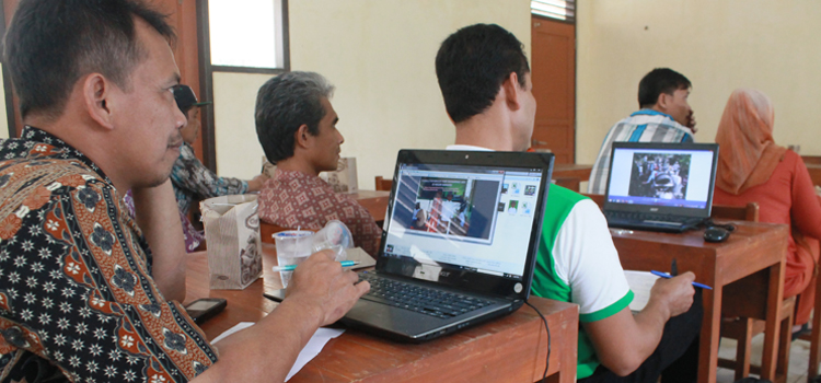 Tujuh Desa di Kajoran Ikuti Pelatihan Pengelolaan Website dan Sistem Informasi Desa