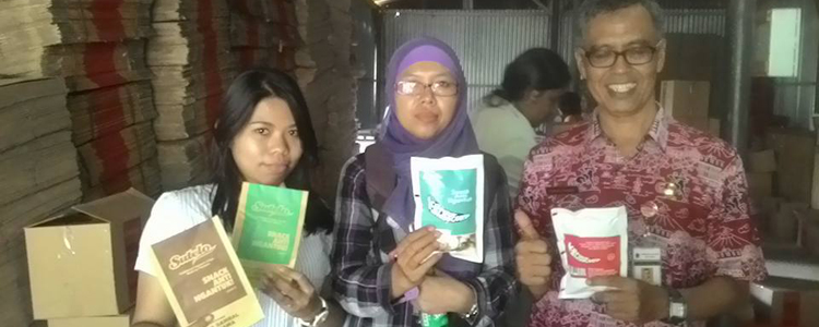 "Puluhan Peserta Pelatihan dari Dinas Perindustrian Jawa Tengah Berkunjung ke ""Sutelo"""