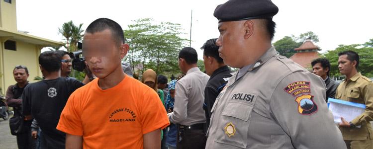 Reskrim Polsek Kajoran Tangkap dua Bocah Pelaku Jambret