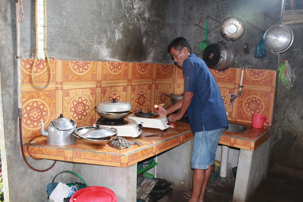 Warga Dusun Sindon Manfaatkan Limbah Tahu untuk Biogas