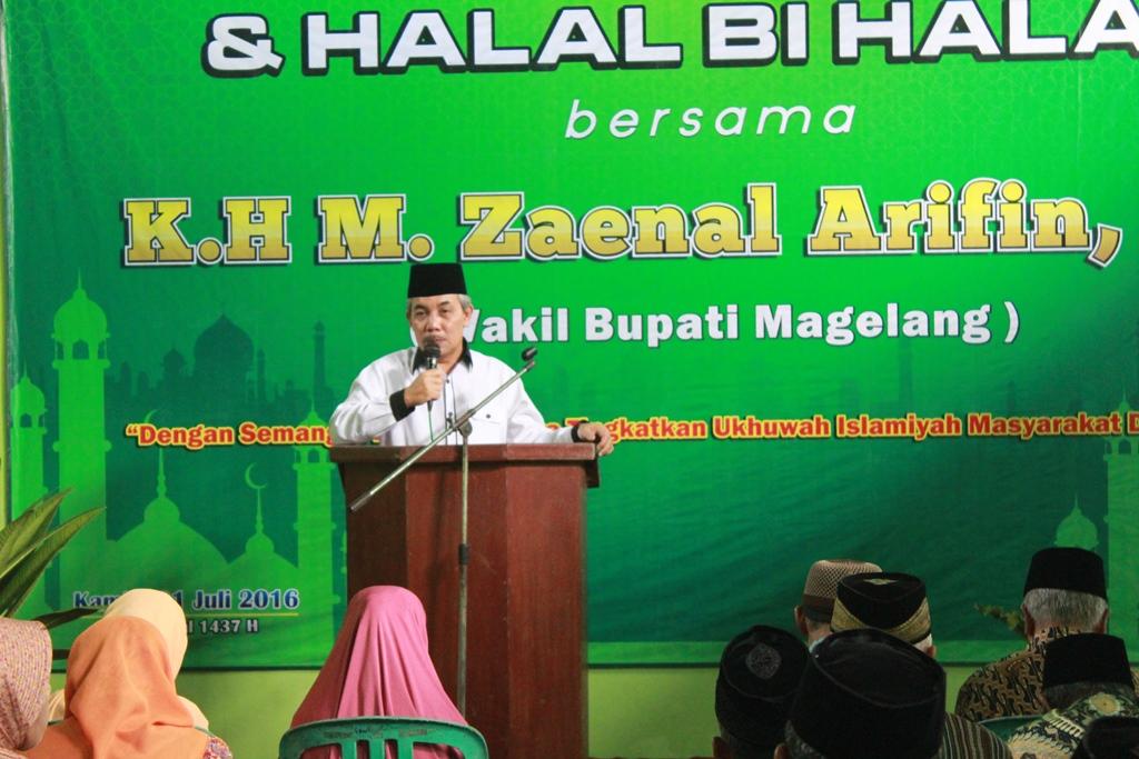 Pemdes Sambak adakan Halal Bi Halal di Balai Desa