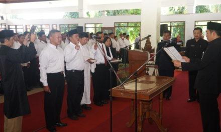 7 Anggota BPD Sambak Resmi dilantik
