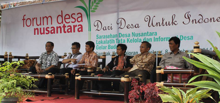 Pelaksanaan UU Desa dan Keberlanjutan PNPM Wilayah Perdesaan