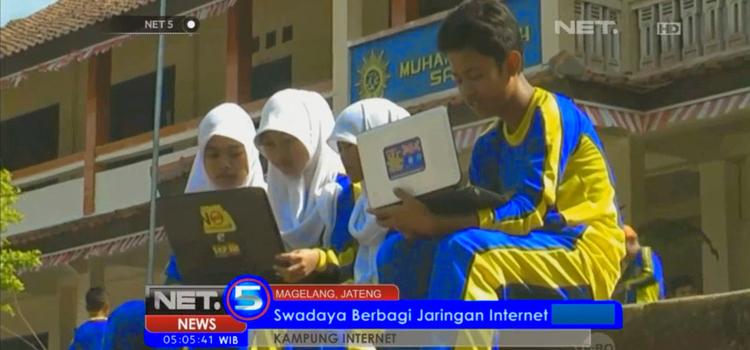 Pemuda Sambak Berkumpul Bahas Internet dan Sosmed
