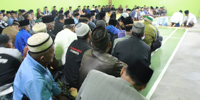 Gedung Balai Desa jadi, Kades Gelar Doa Bersama dengan Warga