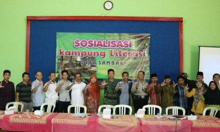 Omah Ngisor terpilih Menjadi Penyelenggara Kampung Literasi di Kabupaten Magelang