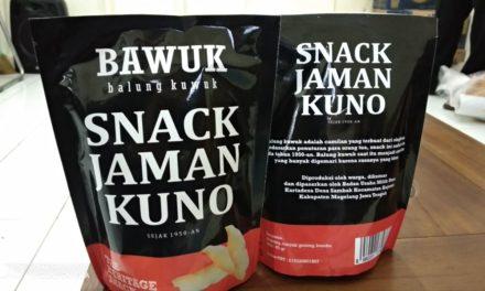 Bawuk, Snack Jaman Kuno Citarasa Jaman Now