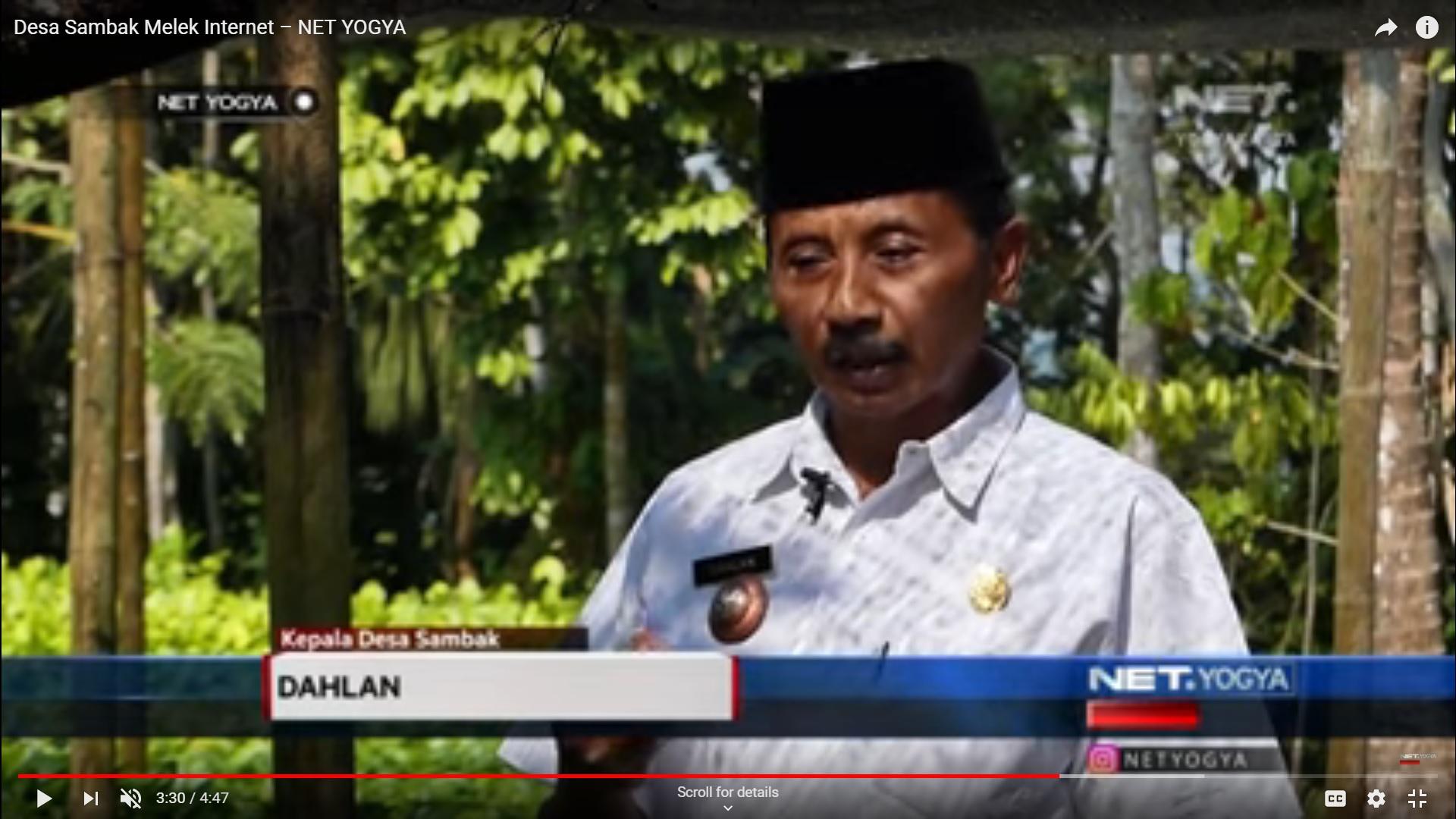 Desa Sambak Melek Internet – NET YOGYA